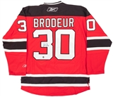 Martin Brodeur Autographed New Jersey Devils Hockey Jersey (Frozen Pond)