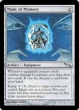 Magic the Gathering Mirrodin Single Mask of Memory FOIL