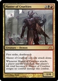 Magic the Gathering Dragon's Maze Single Master of Cruelties Foil