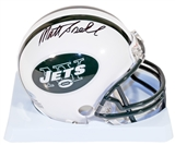 Matt Snell Autographed New York Jets Mini Football Helmet (Tristar)