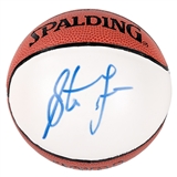 Steve Francis Autographed Houston Rockets Mini Spalding Basketball (Press Pass)