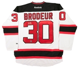 Martin Brodeur Autographed New Jersey Devils Authentic Reebok Jersey (AJ's Sportsworld)