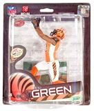 McFarlane AJ Green Cincinatti Bengals NFL Series 33 (Orange) Variant Figure