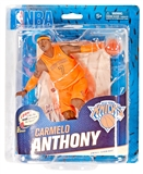 McFarlane Carmelo Anthony New York Knicks NBA Series 23 (Christmas) Variant Figure