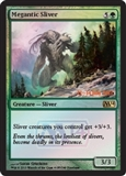 Magic the Gathering 2014 Single Megantic Sliver Promo Foil UNPLAYED