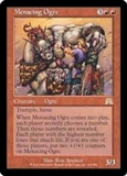 Magic the Gathering Onslaught Single Menacing Ogre - NEAR MINT (NM)