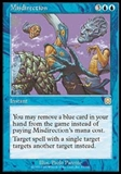 Magic the Gathering Mercadian Masques Single Misdirection - NEAR MINT (NM)