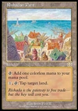 Magic the Gathering Mercadian Masques Single Rishadan Port UNPLAYED (NM/MT)