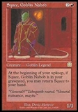 Magic the Gathering Mercadian Masques Single Squee, Goblin Nabob - NEAR MINT (NM)
