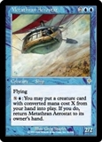 Magic the Gathering Invasion Single Metathran Aerostat Foil