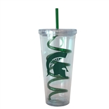 Boelter Michigan State Spartans 22 oz Double Insulated Swirl Tumbler