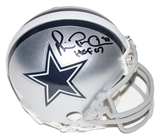 Michael Irvin Autographed Dallas Cowboys Authentic Mini Helmet (JSA)