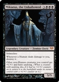 Magic the Gathering Dark Ascension Single Mikaeus, the Unhallowed Foil