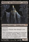 Magic the Gathering Dark Ascension Single Mikaeus, the Unhallowed - SLIGHT PLAY (SP)