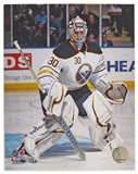 Ryan Miller Buffalo Sabres 8x10 Hockey Photo 2012/13 white jersey