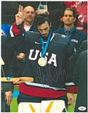Ryan Miller Autographed Team USA Olympic 11x14 Photograph (JSA)