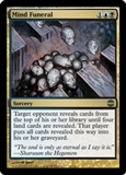 Magic the Gathering Alara Reborn Single Mind Funeral UNPLAYED (NM/MT)