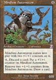 Magic the Gathering Exodus Single Mindless Automaton - SLIGHT PLAY (SP)
