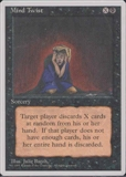 Magic the Gathering 4th Edition Single Mind Twist UNPLAYED (NM/MT)