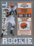 2010 Playoff Contenders #113 Carlton Mitchell /496 Rookie Autograph