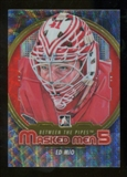 2012/13 In the Game Between The Pipes Masked Men V Silver #MM30 Ed Mio /50