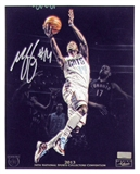 Michael Kidd Gilchrist Autographed 8x10 Photo 2013 The National Panini VIP Signings