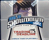 WOTC MLB Showdown 2002 Trading Deadline Baseball Booster Box