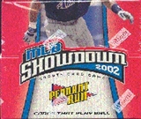 WOTC MLB Showdown 2002 Pennant Run Baseball Booster Box