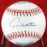 Paul Molitor Autographed Milwaukee Brewers Official Hall of Fame Baseball (Tristar)