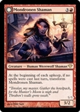 Magic the Gathering Dark Ascension Single Mondronen Shaman Foil