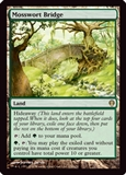 Magic the Gathering Archenemy Single Mosswort Bridge - NEAR MINT (NM)