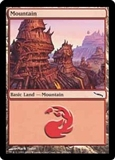 Magic the Gathering Mirrodin Single Mountain (299) Foil