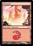 Magic the Gathering Mirrodin Single Mountain (302) Foil