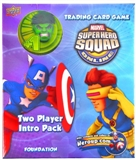 Marvel Super Hero Squad Trading Card Game Two Player Intro Pack (Hulk)
