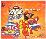 Marvel Super Hero Squad Trading Card Game Foundation Booster Box