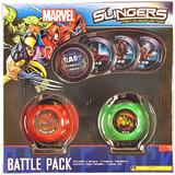 Upper Deck Marvel Slingers Battle Pack Box