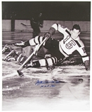 Milt Schmidt Autographed Boston Bruins 16x20 Photo