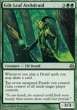 Magic the Gathering Morningtide Single Gilt-Leaf Archdruid FOIL - SLIGHT PLAY (SP)