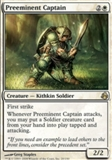 Magic the Gathering Morningtide Single Preeminent Captain UNPLAYED (NM/MT)