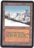 Magic the Gathering Alpha Single Taiga - MODERATE PLAY (MP)