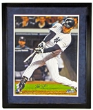 Mark Texeira Autographed NY Yankees Framed 16x20 Photo (Steiner)