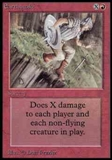 Magic the Gathering Alpha Single Earthquake - NEAR MINT (NM)