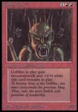 Magic the Gathering Alpha Single Goblin King - MODERATE PLAY (MP)