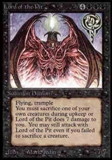 Magic the Gathering Alpha Single Lord of the Pit UNPLAYED (NM/MT)