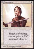 Magic the Gathering Alpha Single Righteousness - NEAR MINT (NM)