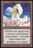 Magic the Gathering Alpha Single Winter Orb UNPLAYED (NM/MT)