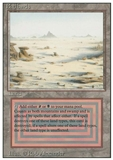 Magic the Gathering 3rd Ed (Revised) Single Badlands SLIGHT PLAY (SP)