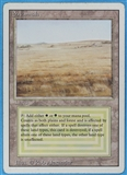 Magic the Gathering 3rd Ed (Revised) Single Savannah LIGHT PLAY (NM)