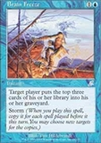 Magic the Gathering Scourge Single Brain Freeze LIGHT PLAY (NM)