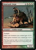 Magic the Gathering Shadowmoor Single Boartusk Liege UNPLAYED (NM/MT)